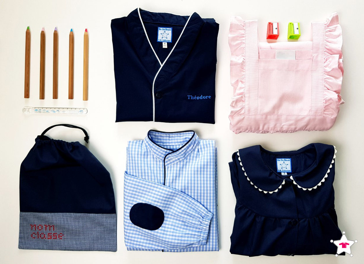Vêtements écolier