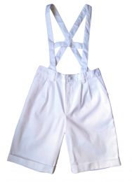 Culotte anglaise drill blanc