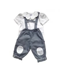 bloomer long pois gris