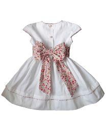 Robe Chloé blanche cortège